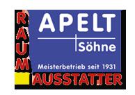 Logo der Raumausstattung Apelt in Berlin Treptow Köpenick